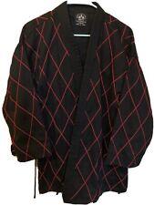 Karate Best Sang Moo Sa Black Jacket With Red 180cm