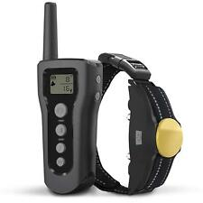 Dog Shock Training Collar Remote Electric Rechargeable Waterproof 3 Modes 1200Ft