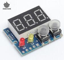 DC 0-99.9V Green LED Panel Digital Voltmeter Applied w/ Alarm Indicator