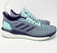 Adidas Women's Size 11 Solar Drive D97448 Aqua Blue Purple Running Shoes Boost