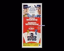 5 Card Stud 1968 Dean Martin Daybill Original Australian Cinema Movie Poster