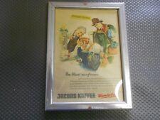 Jacobs Kaffee  alte Reklame im Bilderrahmen (293)