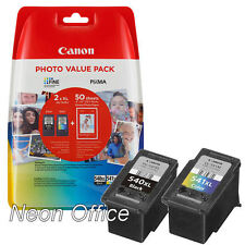 Canon PG540XL CL541XL Black & Colour Ink Cartridge Value Pack For PIXMA MX395