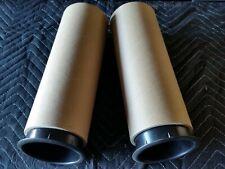 """PAIR Speaker Vent Sound Tube 4.5"""" x 12"""" Speaker Port Tube Bass Reflex Tube"""