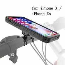 Bike Mount Waterproof Phone Case Bicycle Kit Handlebar Holder For iPhone X/XS