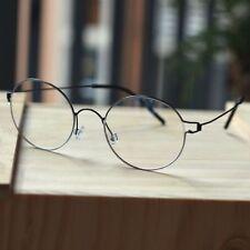 Black Titanium Round Steve Jobs Glasses mens HARRY POTTER rx Eyeglasses eyewear