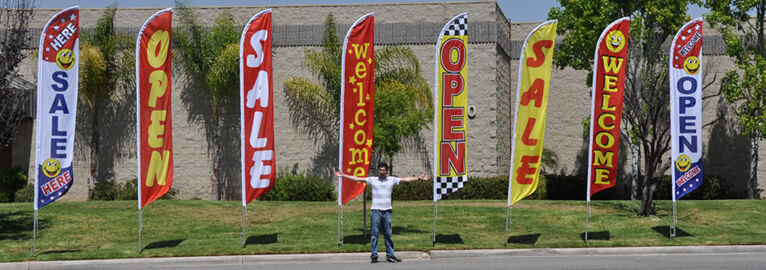 2 two LOTTO 11.5/' SWOOPER #1 FEATHER FLAGS BANNERS