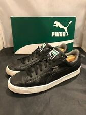 PUMA Men s Basket Classic Textured Fashion Sneaker Black Sz 11 - Very Clean! 3f82e49cb