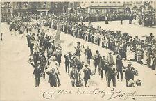 Postcard Parade at Esperanto Convention Nurnberg Nuremberg 1903 Opening Ceremony