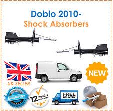Para Fiat Doblo Carga + MPV 2000- Dos Frontal Gasolina Amortiguadores Set Par