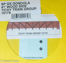 Tichy Train Group #10179 Decal for: Southern Pacific GS Wood Gondola