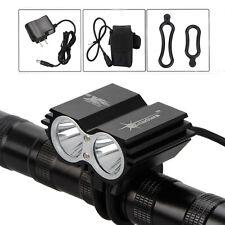SolarStorm 6000lm 2T6 LED Front Bicycle Bike Light Headlamp Headlight 6400mAh