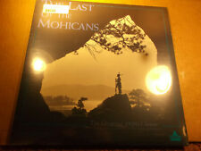 Laserdisc The Last of the Mohicans 1920 Silent Movie, Rare Indian History SEALED