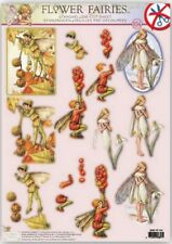 FLOWER FAIRIES DECOUPAGE TOPPERS GREAT FOR CARDS AND CRAFTS