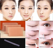 2 Sheet Invisible Fiber Double Side Adhesive Eyelid Stickers Technical Eye Tapes