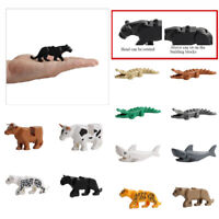 Crocodile Tiger Buildable Model Kid Animals Building Block Fit LEGO Adjustable