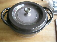 VERMICULAR Oven Pot Round  #22 & Organic Cotton  Pot Holder Made in Japan