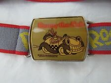 Benny the Cab Roger Rabbit Stretch Belt 1987 Disney Amblin