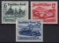 DR: ** Mi 686-688. IAA-Satz BERLIN 1939 ansehen TOP kaufen MW 110,- (FZC-200#1)