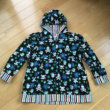Real Kidz Girl Jacket Coat Skull Flower Kids Boy XL Large Size Plus Skate Board