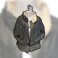 🇫🇷 🧊 Moncler Grey & White 80's Down Filled Grenoble Archive Jacket Size: XXXL