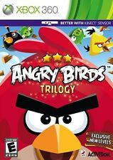 Angry Birds Trilogy XBOX 360 Video Game Original UK Release Mint Condition