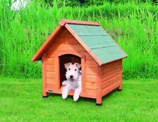 Trixie natura Hundehütte Cottage mit Satteldach S–M: 71 × 77 × 76 cm natur