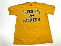 Green Bay Packers T-Shirt Men's NFL Size Medium Yellow