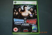 WWE Smackdown VS Raw 2010 Xbox 360 UK PAL **FREE UK POSTAGE**