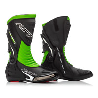 RST Tractech Evo III 3 Sport CE Motorcycle Boots Black/ Green