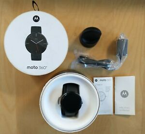 Moto 360 1st Gen Smartwatch - Charges but Will Not Power On