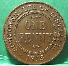 1913 Australia 1d Penny #2226