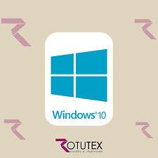 1 x WINDOWS 10 FOR PC LAPTOP HD AZUL CYAN STICKER LOGO DECAL BADGE ADHESIVO