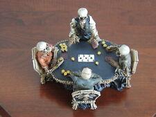 Nemesis Now Skeleton Gamblers Poker Card Game Group Figurine