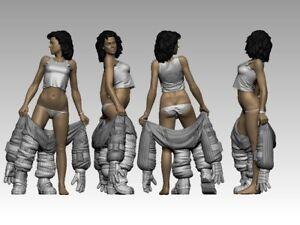 Alien ELLEN RIPLEY, Aliens, - Ripley Spacesuit Resin Model / Figure / Statue