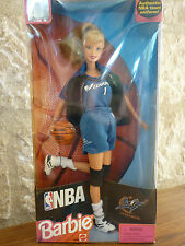 BARBIE blonde NBA WIZARDS 1998  Ref 20696 neuve