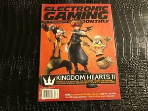 MARCH 2006 ELECTRONIC GAMING MONTHLY video game magazine (F3-BX7) KINGDOM HEARTS