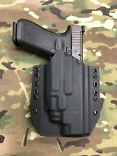 Black Kydex Holster for Glock 34 GEN5 Streamlight TLR-8