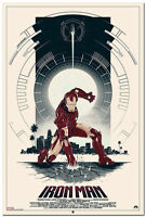 New Iron Man Poster Comic Movie Silk Wall Poster Pictures 13x20 24x36 inch 006