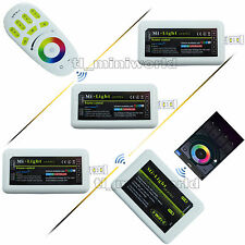 WiFi+Remote+3x RGBw led Controller -2.4G RF 4Zone Android IOS Phone RGB Dimmable