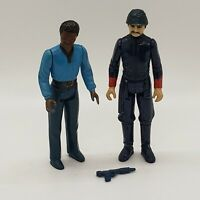 Vintage Star Wars Lando Calrissian Bespin Guard Action Figure Lot Blaster