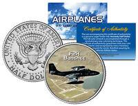 F2H BANSHEE * Airplane Series * JFK Kennedy Half Dollar Colorized US Coin