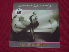 """Jackie Quartz: A La Vie, A L'amour  PWL  7""""  NEW Ex shop stock"""