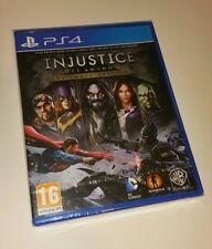 Injustice Gods Among Us Ultimate Edition PS4 New Sealed UK PAL PlayStation 4