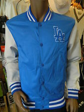 Majestic MLB Los Angeles Dodgers Authentic Letterman Jacket UK Mens Size Lrg
