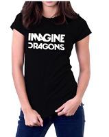 Imagine Dragons Rock Band Logo Women's T-Shirt