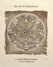 Steampunk Art Alchemy Circle Of Combinations Design Sacred Geometry