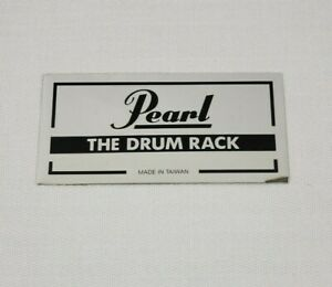 Pearl The Drum Rack Badge