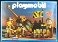 PLAYMOBIL 3653 - Ritter mit Steinschleuder / Katapult - Knight - 1993 - NEU MISB