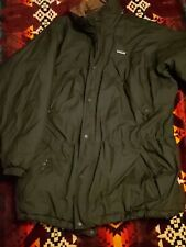 Vintage Patagonia Jacket Xl Green Parka Warm